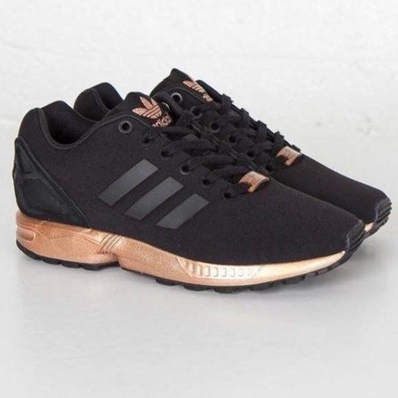 RARE Adidas ZX Flux Rose Gold✨
